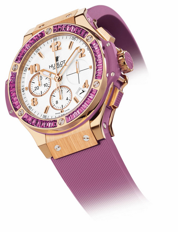 HUBLOT BIG BANG « PURPLE CARAT »
