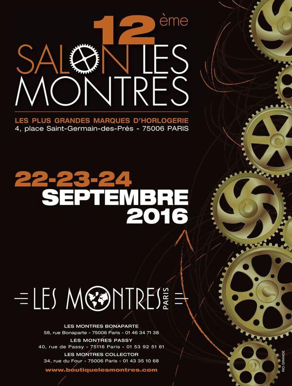 « Les Montres » font leur show à Paris les 22, 23 et 24 septembre 2016