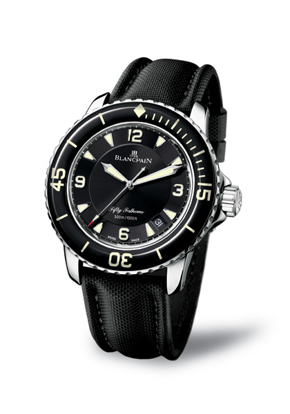 BLANCPAIN LANCE UNE NOUVELLE COLLECTION FIFTY FATHOMS