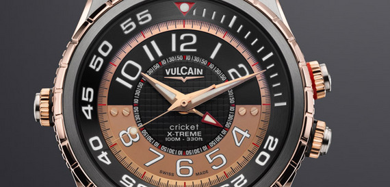 VULCAIN CRICKET DIVER X-TREME