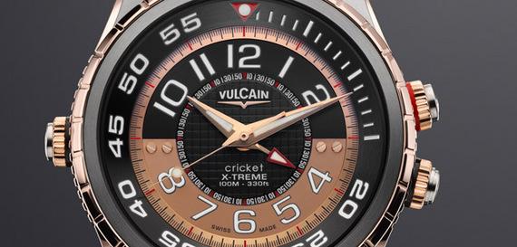 VULCAIN CRICKET DIVER X-TREME