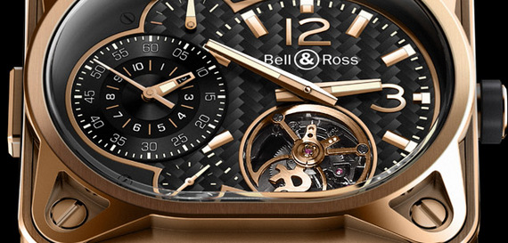 BELL & ROSS INSTRUMENT BR MINUTEUR TOURBILLON
