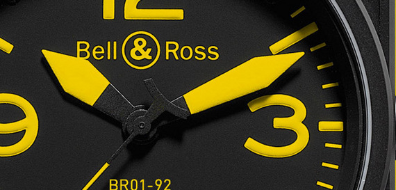 BELL & ROSS INSTRUMENT YELLOW