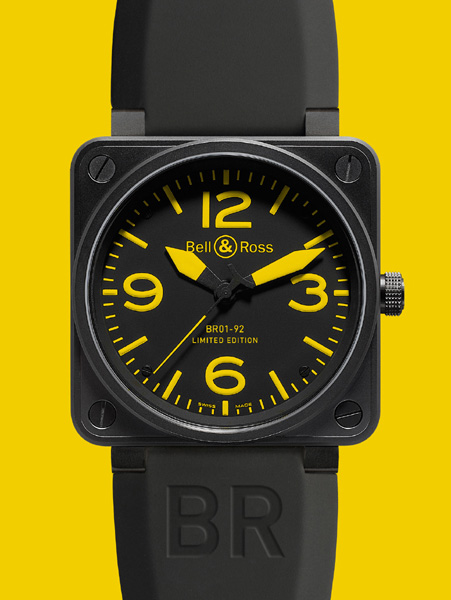 BELL & ROSS INSTRUMENT BR 01 YELLOW