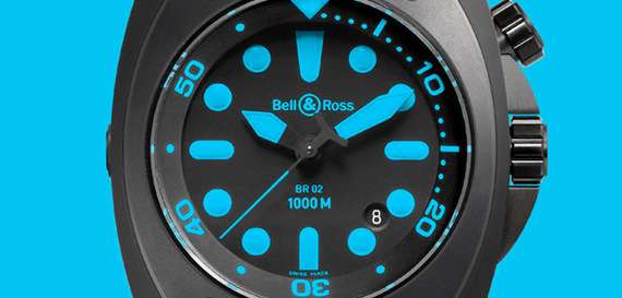BELL & ROSS INSTRUMENT BLUE