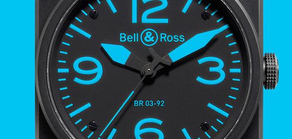 BELL & ROSS INSTRUMENT BLUE