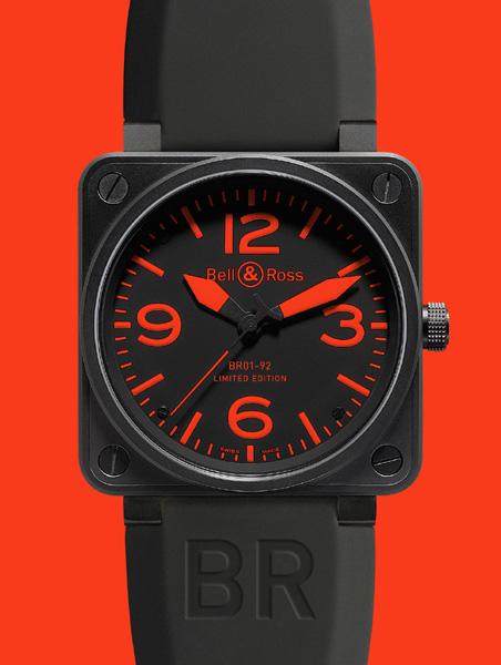 BELL & ROSS INSTRUMENT BR 01 RED Édition limitée à 500 exemplaires