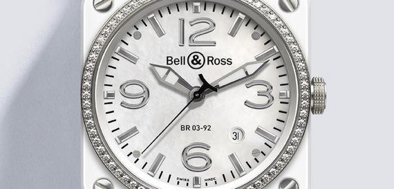 BELL & ROSS INSTRUMENT WHITE CERAMIC