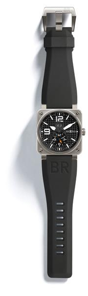 BELL & ROSS INSTRUMENT BR 03-51 GMT Titanium Boîtier 42 mm