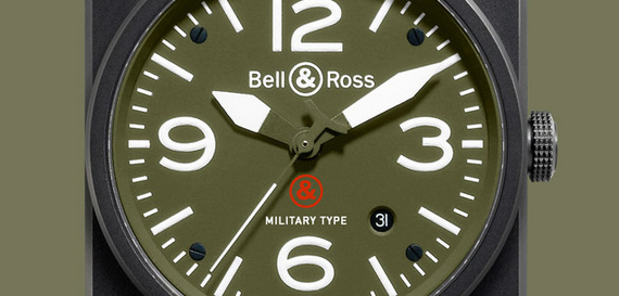 BELL & ROSS INSTRUMENT BR 03-92 Military