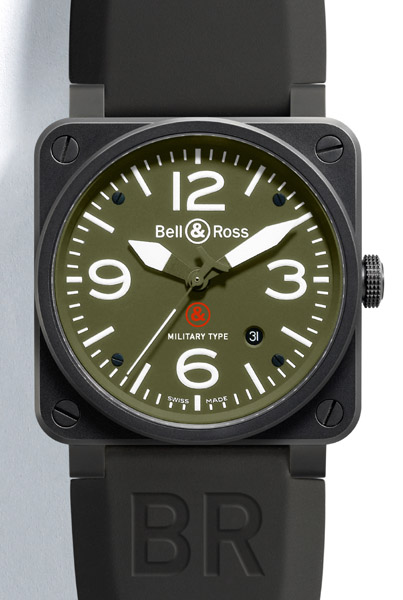 BELL & ROSS INSTRUMENT BR 03-92 Military Boîtier 42 mm