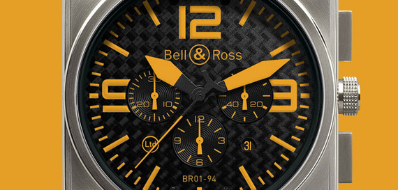 BELL & ROSS INSTRUMENT BR 01 TITANIUM ORANGE