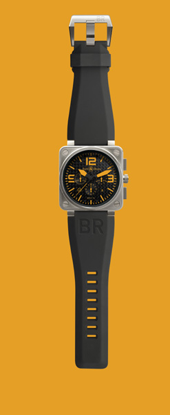 BELL & ROSS - TITANIUM ORANGE