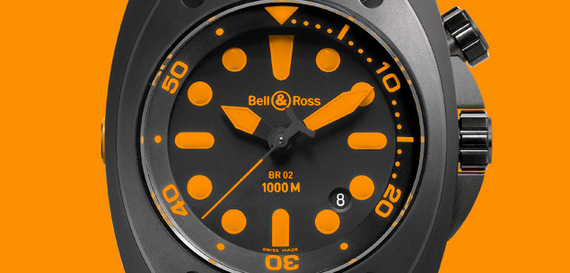 BELL & ROSS INSTRUMENT BR 02 ORANGE