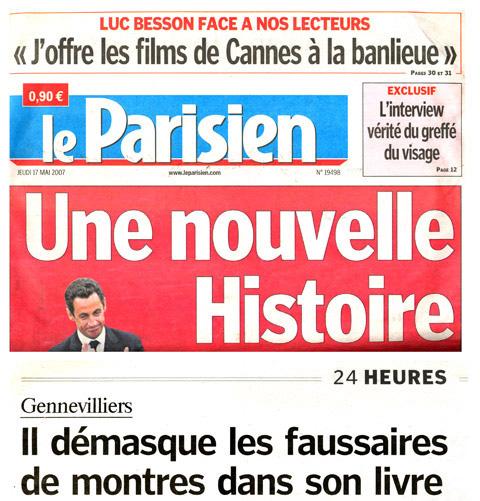 Presse - Fabrice Guéroux - Montres et contrefaçons