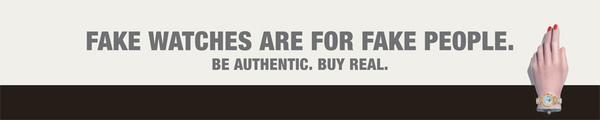 Campagne anti-contrefaçon de la Fondation de la Haute Horlogerie