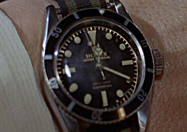 "Rolex Submariner ""Goldfinger"""