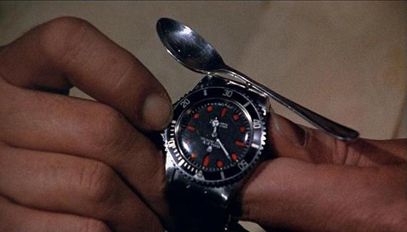 Vivre et Laisser Mourir - Montre Rolex Submariner 5513 de Roger Moore
