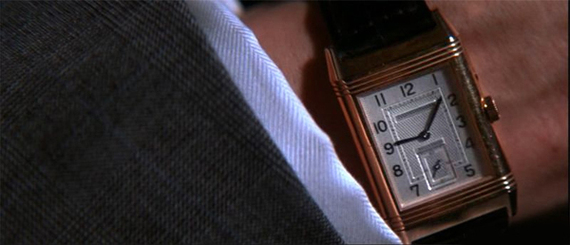 L'affaire Thomas Crown - Jaeger Lecoultre Reverso Duo de Pierce Brosnan