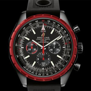 Breitling Chronomatic 1461 Black Steel