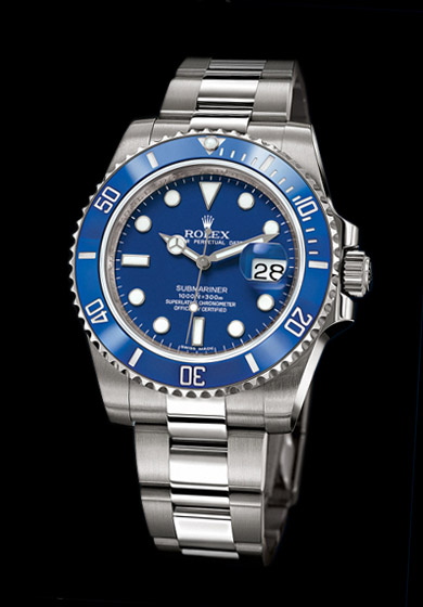 ROLEX SUBMARINER OR GRIS