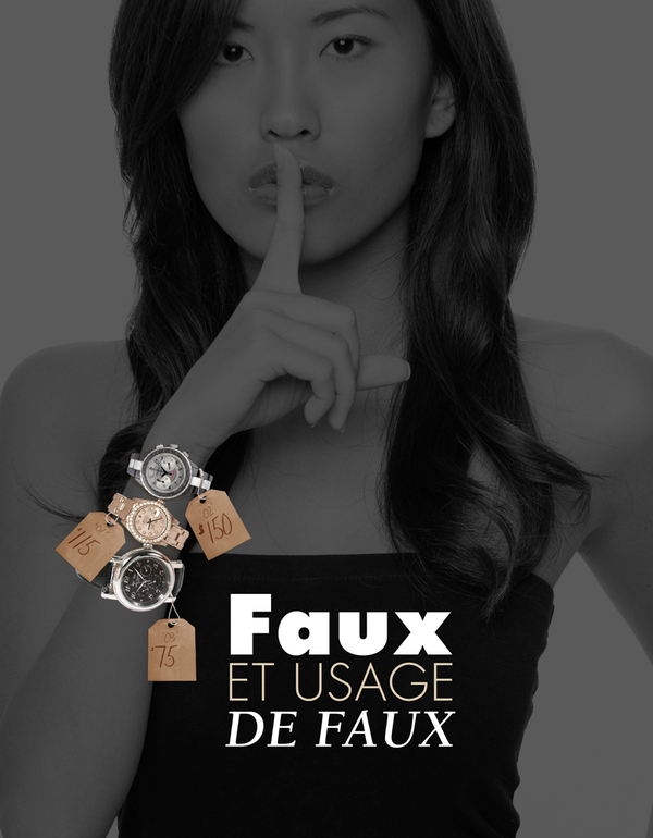 Le dossier contrefaçon de la Revue des Montres - par Fabrice Guéroux