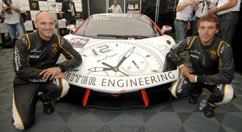 blancpain, lamborghini, lamborghini blancpain, super trofeo, super trofeo norisring,Lamborghini Blancpain Super Trofeo,Chronographe Super Trofeo,Marc a. Hayek, montre homme,montre de luxe