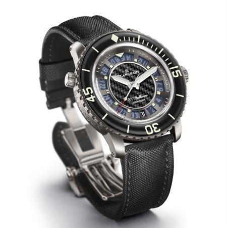 blanpain fifty fathoms, blancpain 50 fathoms, montre de marque, montre homme, montre de luxe, montre de plongée