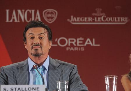 jaeger lecoultre,montre jaeger lecoultre, sylvester Stallone, la mostra, festival de venise,festival du film de venise