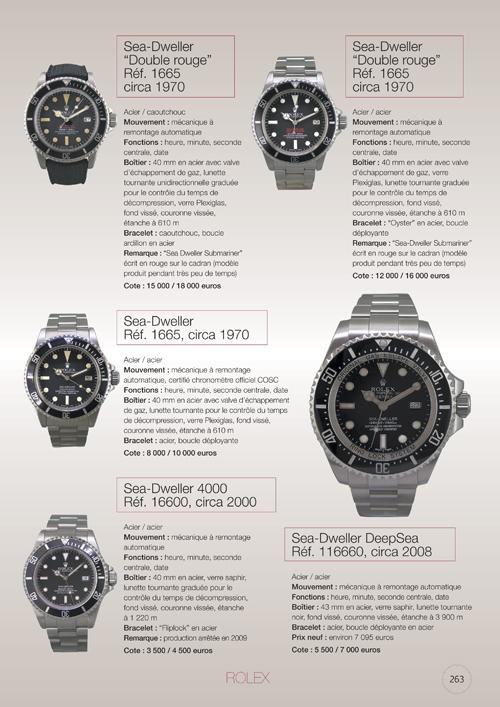 """Nouvelle édition 2010 de """"La Cote des montres"""" de MMC"""