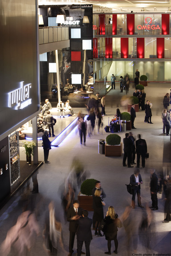 BASELWORLD 2010 EN POSITION DE FORCE