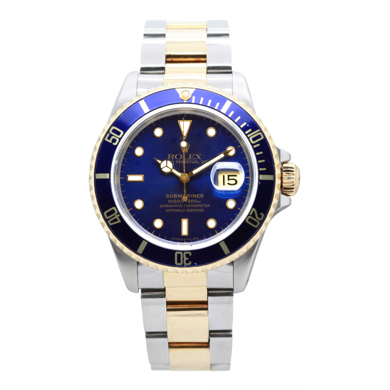 rolex submariner 16613 occasion sultan. Black Bedroom Furniture Sets. Home Design Ideas
