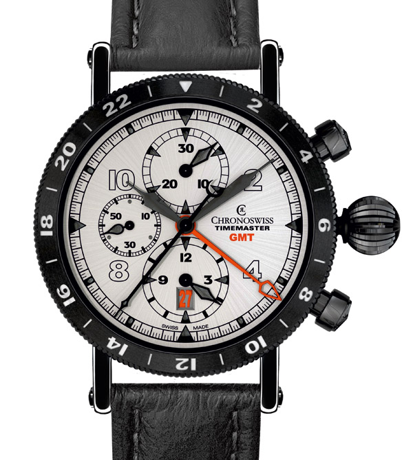 Chronoswiss Timemaster Chronograph GMT avec second fuseau horaire