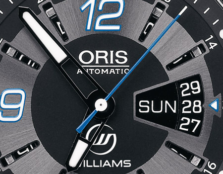ORIS WILLIAMS F1 TEAM DAY DATE