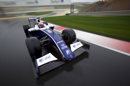 ORIS WILLIAMS F1 TEAM DAY DATE : L'EXPLOIT EN BLEU BLANC NOIR
