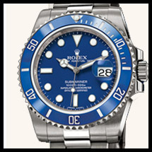 Rolex Submariner - Lunette Céramique Bleue