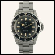 Rolex Submariner  - cadran mat
