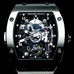 montre collection richard mille rm 003 tourbillon. Black Bedroom Furniture Sets. Home Design Ideas