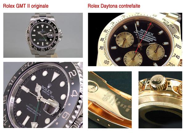Rolex Occasion (originale et fausse)