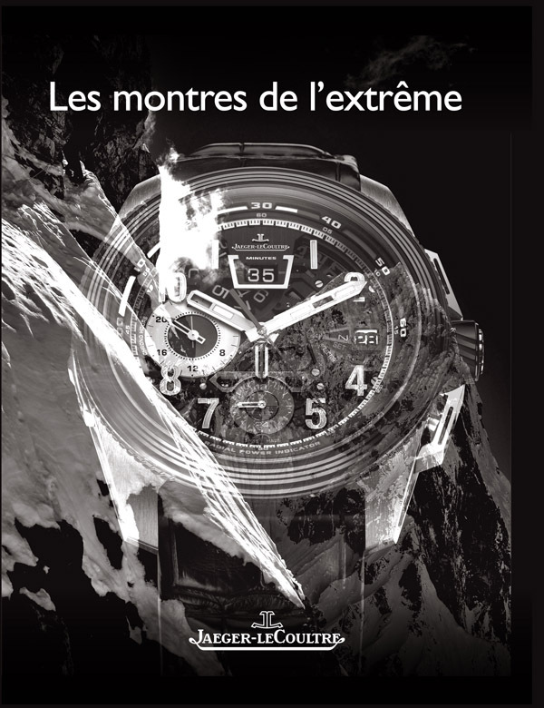 Jaeger-LeCoultre consacre un livre aux montres de l'extrême