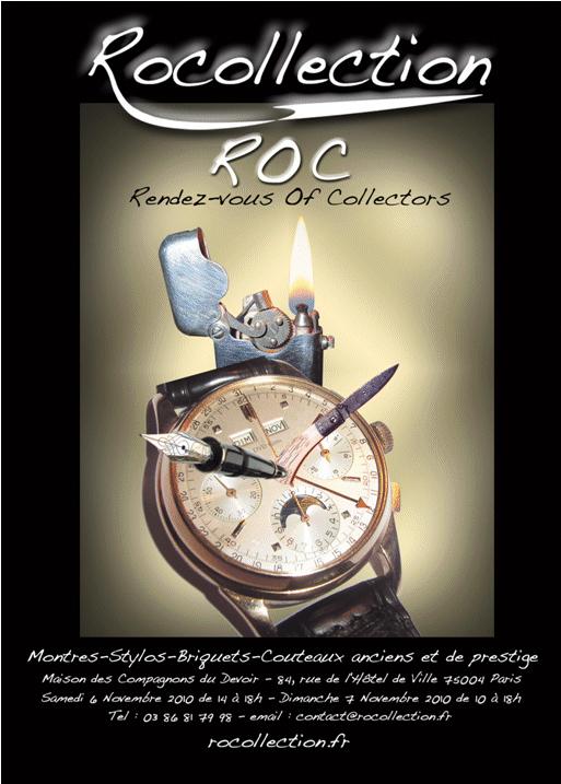 Collectionneurs... un rendez-vous à ne pas manquer les 6 et 7 novembre 2010.