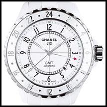 Chanel GMT Céramique Noire - Blanche