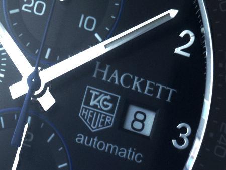 UNE COLLABORATION UNIQUE : Hackett et Tag Heuer, deux éditions limités à 100 exemplaires