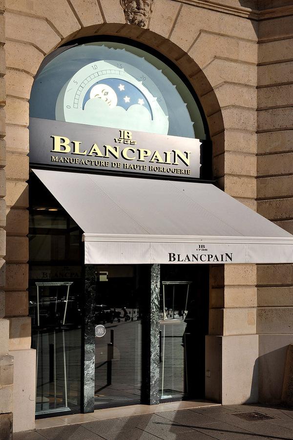 Exposition Blancpain Fifty Fathoms - Innauguration dans la boutique de la Plâce Vendôme