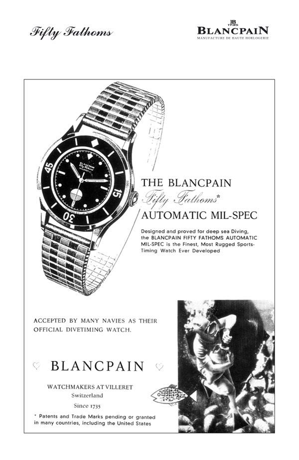 Blancpain Fifty Fathoms - Une exposition dédiée aux collectionneurs et passionnés