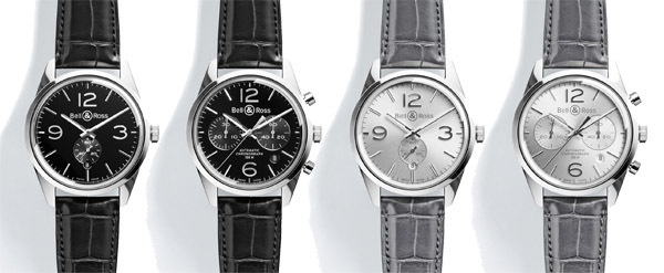 BELL & ROSS BR 123 & BR 126 OFFICER, Dernières nées de la COLLECTION VINTAGE