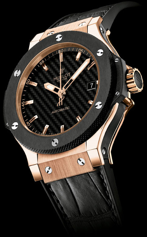 HUBLOT BIG BANG GOLD 38 mm AUTOMATIC - Céramique