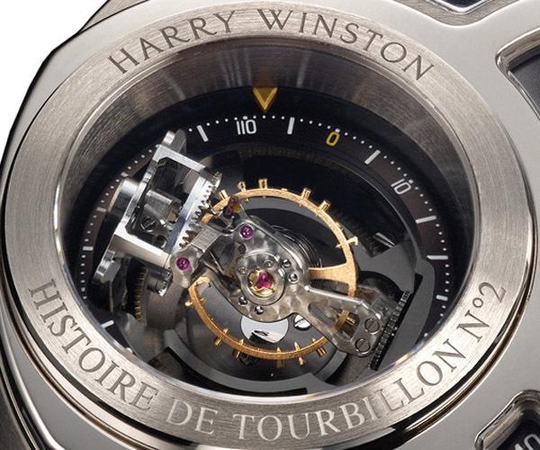 MONTRE HARRY WINSTON HISTOIRE DE TOURBILLON 2