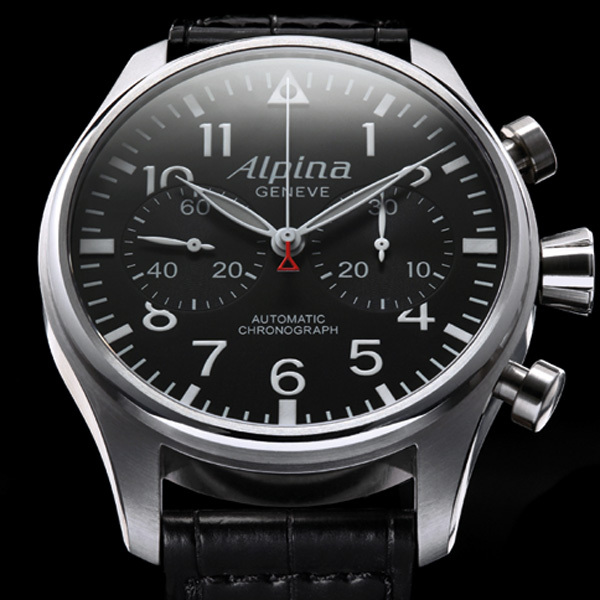 Montre Alpina StarTimer Pilot Collection
