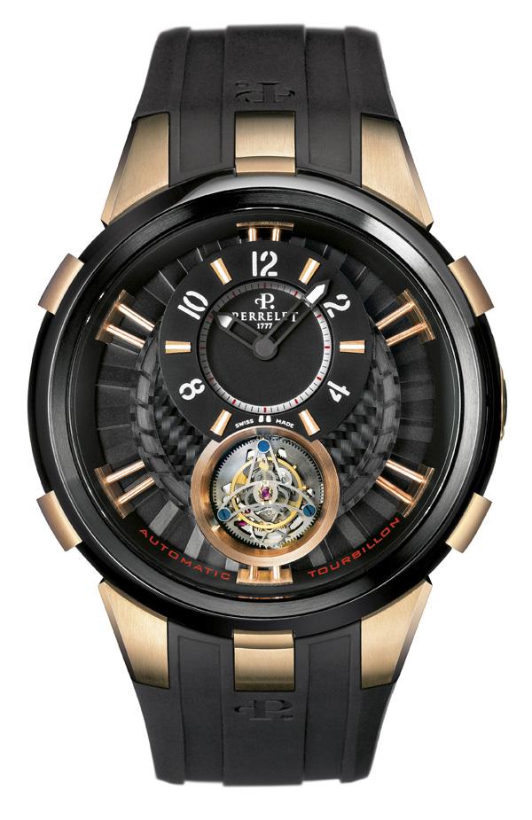 La montre Perrelet Tourbillon Volant Automatique série limitée à 20 exemplaires
